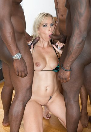 MILF Julia Pink Stars in Her First Interracial..